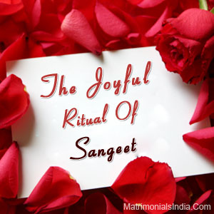 The Joyful Ritual Of Sangeet