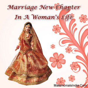 Marriage: New Chapter In A Woman's Life