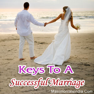 keys to a successful marriage I realize that personalities vary, and that my husband and i are both fairly even-tempered people who avoid conflict in our lives that may be a large part of the secret to the longevity of our marriage.