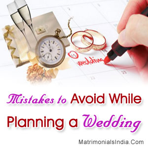 Mistakes to Avoid While Planning a Wedding