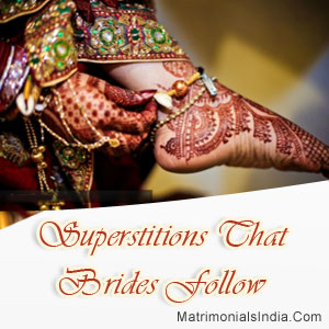 Superstitions That Brides Follow