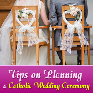 Tips on Planning a Catholic Wedding Ceremony
