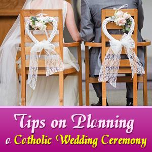 Tips on Planning a Catholic Wedding Ceremony